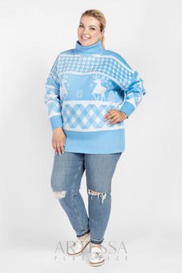 Джемпер DG36228DEN08 голубой