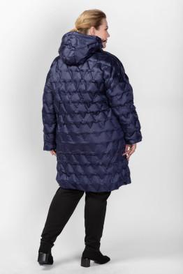 Пальто PL26133DBL05 синий