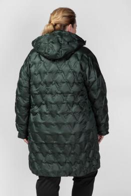 Пальто PL26133GRN45 зеленый
