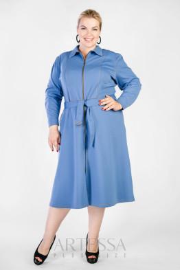 Платье PP38206BLU09 голубой