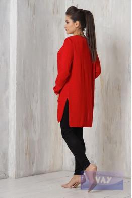 Жакет жен. 1455 красный