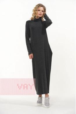 Платье 182-3461 черный