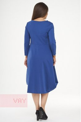 Платье 182-3468 деним