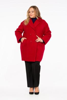 Пальто Тамила (красный)