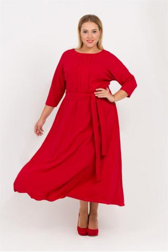 Платье Агния (красный)
