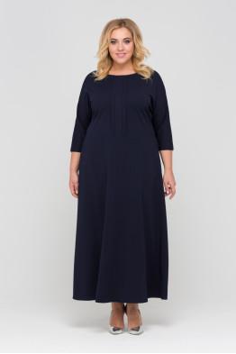 Платье Агния (синий)