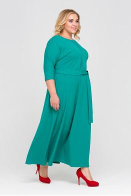 Платье Агния (зеленый)