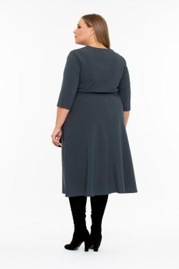 Платье Эбигейл (серо-зеленый)