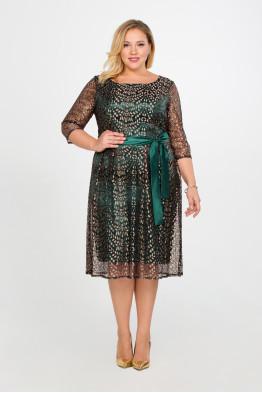 Платье Эсме (изумрудный)