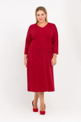 Платье Ева (красный)
