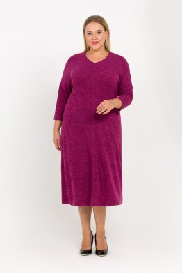Платье Ева (фиолетовый)