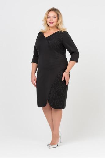 Платье Сати (черный)