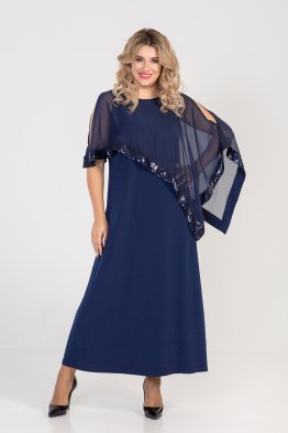 Платье 1005 (синий)