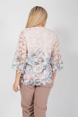 Блузка 1040 розовый