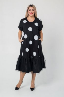 Платье 1051 черный