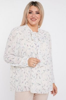 Блузка 1069 молочный