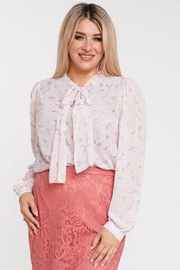 Блузка 1069 розовый