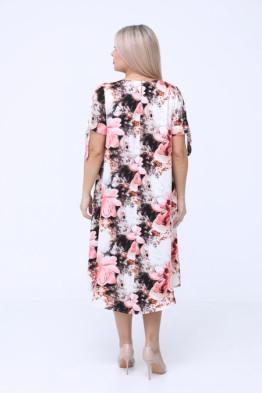 Платье 1081 розовый