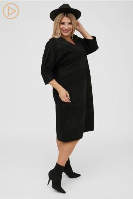 Платье 1137 черный
