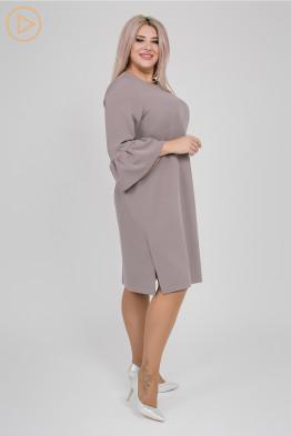 Платье 1149 серый