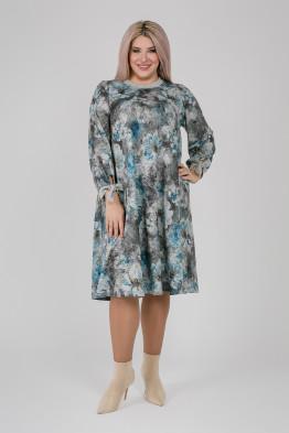Платье 1164 голубой
