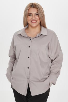 Рубашка 1222 серый