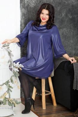 Платье 463 (чернильный)