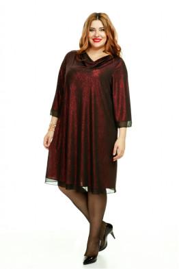 Платье 463 (вишня)