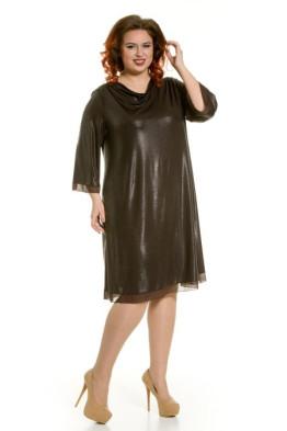 Платье 463 (шоколад)