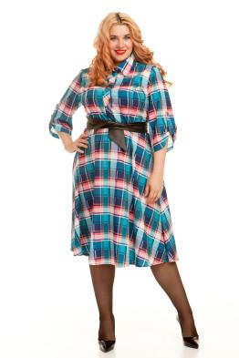 Платье 497 (клетка)