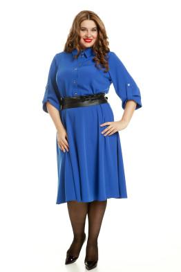 Платье 497 (василек)