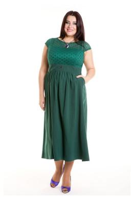 Платье 501 (малахитовый)