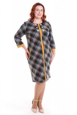 Платье 519 (клетка)