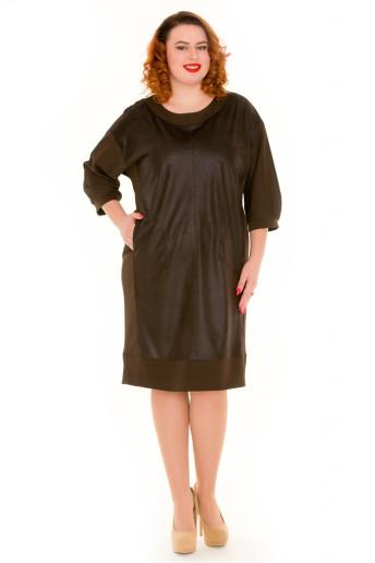 Платье 541 (шоколад)