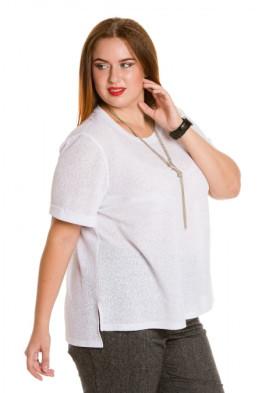 Блузка 623 (белый)