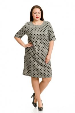 Платье 738 (серый)
