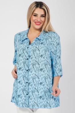 Рубашка 915 голубой
