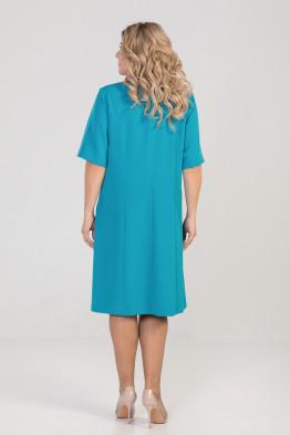 Платье 930 бирюза