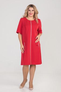Платье 930 красный