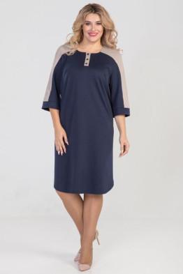 Платье 985 (синий)