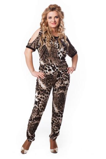 Блузка Вики (леопард)