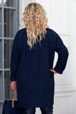Пальто Мариса (темно синий)