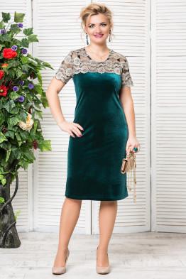 Платье Катрин (зеленый)