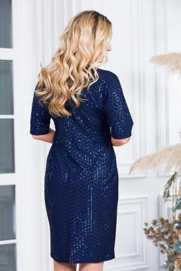 Платье Диско (синий)