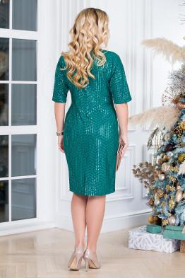 Платье Диско (зеленый)