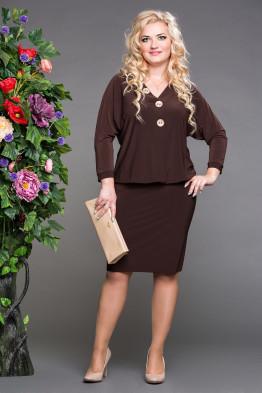 Платье Глория (шоколад)