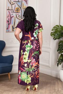 Платье Лилиана (фиолет)