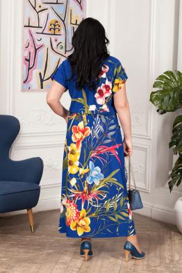 Платье Лилиана (василек)