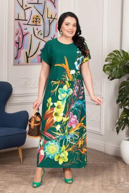 Платье Лилиана (зеленый)
