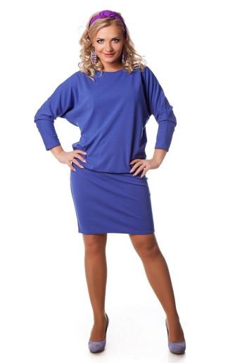 Платье Мадонна (светлый фиолет)